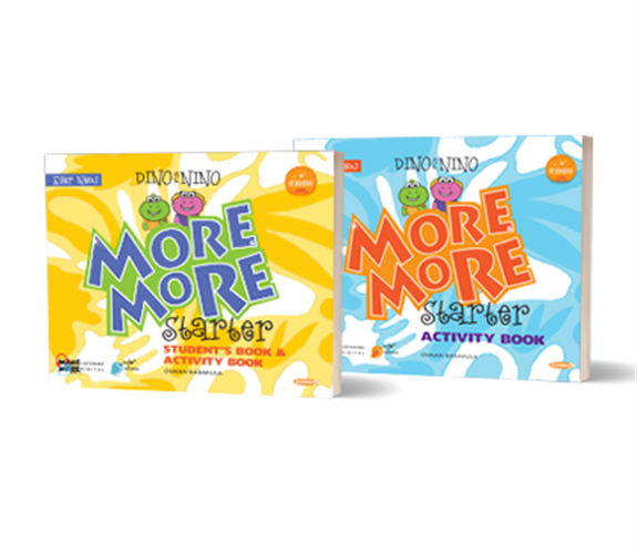 MORE & MORE ENGLISH DINO & NINO STUDENTS BOOK + ACTIVITY BOOK